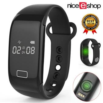 niceEshop Heart Rate Watch with Step Calorie Tracker and Sleep Monitor for Sports Gym Running Workout