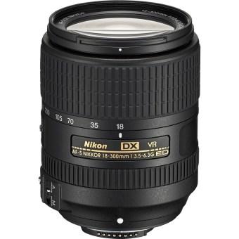Nikon AF-S DX NIKKOR 18-300mm f/3.5-6.3G ED VR Lens Black