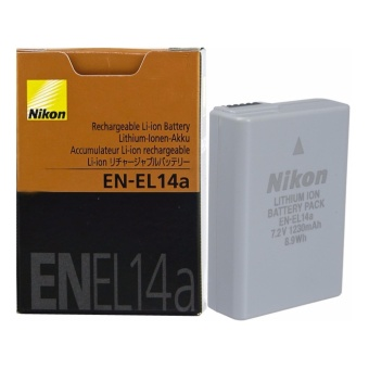 Nikon EN-EL14a Rechargeable Battery (Common EL14)