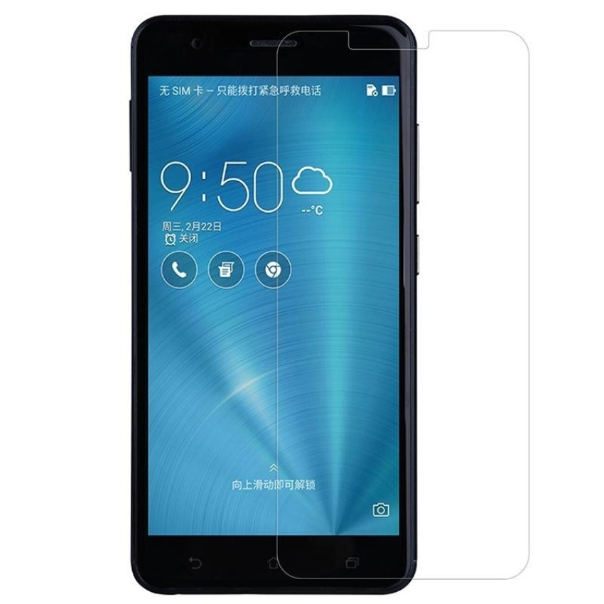 Nillkin 0.33mm Anti-Burst Tempered Glass Protective Film ScreenProtector (Straight Edge) For Asus Zenfone 3 Zoom ZE553KL (Clear)  - intl - 3