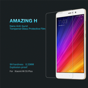 Nillkin 9H Tempered Glass Screen Protector Film For Xiaomi Mi 5sPlus (H) - intl Price Philippines