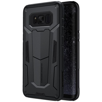 Nillkin Defender 2 Aegis Tough Slim Cover Cases For Samsung GalaxyS8 Phone Bag Covers (Black) - intl Price Philippines
