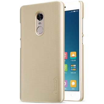 NILLKIN for Xiaomi Redmi Note 4X Super Frosted Shield PC MobileShell + Screen Protector - Gold - intl Price Philippines