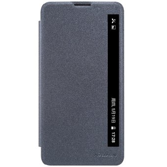 Nillkin Leather Cover for LG Stylus 2 (Dark Gray) intl Price Philippines