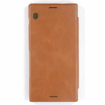 Nillkin Qin Leather Case for Sony Xperia XZ Premium (Brown) Price Philippines