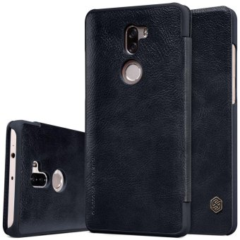 NILLKIN Qin Series for Xiaomi Mi 5s Plus Card Holder Smart Leather Case - Black - intl Price Philippines