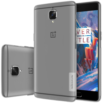 Nillkin Slim TPU Back Cover Case For OnePlus 3T / OnePlus 3 (Grey)- intl Price Philippines