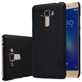 NILLKIN Super Frosted Shield hard back cover for Asus Zenfone 3Laser(ZC551KL) 5.5 inch with Screen Protector (Black) - intl
