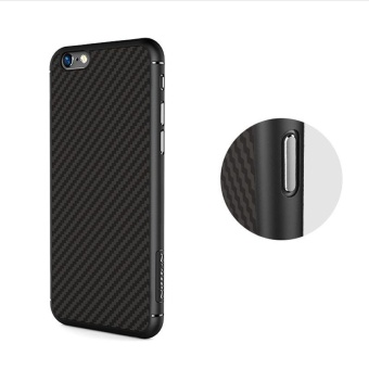 Nillkin Synthetic fiber Back Cover Case For Apple iPhone 6 / 6s 4.7inch Military quality With Retail package (Black) - intl - 4