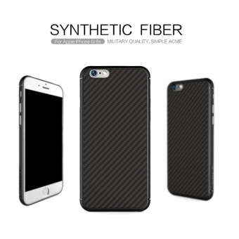 Nillkin Synthetic fiber Back Cover Case For Apple iPhone 6 / 6s 4.7inch Military quality With Retail package (Black) - intl