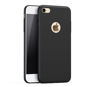 NingMao Smoothly Shield Skin Shockproof Ultra Thin Slim Full Body Protective Scratch Resistant Case for iPhone 6 Plus / 6s Plus (Silky Black) - intl Price Philippines
