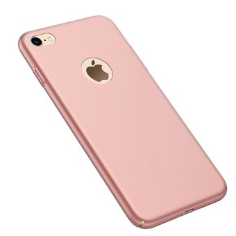 NingMao Smoothly Shield Skin Shockproof Ultra Thin Slim Full Body Protective Scratch Resistant Case for iPhone 6 Plus / 6s Plus (Silky Rose Gold) - intl Price Philippines