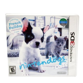 Nintendo 3Ds Nintendogs and Cats French Bulldog