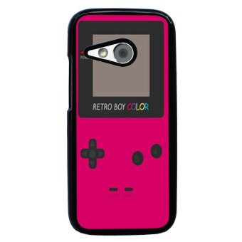 Nintendo Game Boy Pattern Phone Case for HTC One M8 Mini (Black)