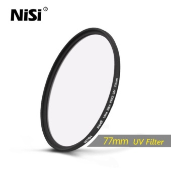 Nisi 77mm UV Filter DUS Ultra Slim Professional UV Filters UltraThin Protective Ultraviolet Filters - intl