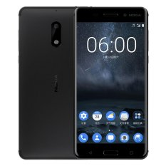 nokia phones for sale. nokia 6 smartphone w/ dual sim, 4gb ram,32gb rom - black intl phones for sale