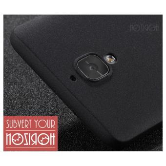 NOZIROH Oneplus 3 Oneplus 3T Matte Silicon Phone Cover Oneplus 3/3TStandstone Soft Case Black Color - intl - 5