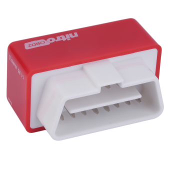 OBD2 Chip Tuning Box Plug and Drive Performance Interface forDiesel Cars (Red) Price Philippines