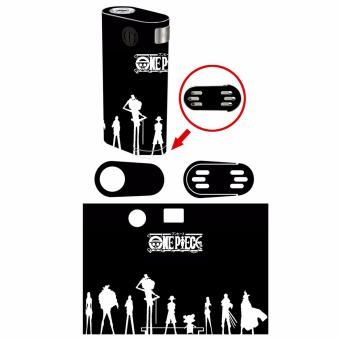 Oddstickers E-Cigarette One Piece Black and white Skin Cover forWismec Noisy Cricket V2