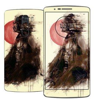 Oddstickers Moon Mask Pattern Phone Skin Cover for LG G3