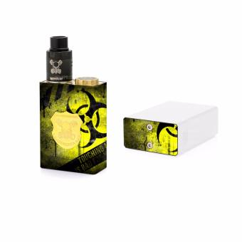 Oddstickers Touching my Vape is Bad for your Health E-CigaretteSkin Cover for Wismec Underground Mod
