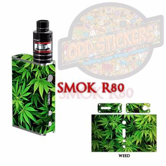 Oddstickers Weed E-Cigarette Skin Cover for Smok R80