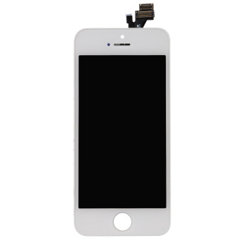 OEM A+ White LCD Touch Screen Glass Display Digitizer for iPhone 5 5G
