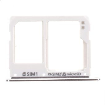 OEM SIM/Micro SD Card Tray Holder Replacement for Samsung Galaxy A3 A310/A5 A510/A7 A710 - Grey - intl Price Philippines