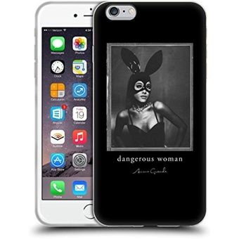 Official Ariana Grande Bunny Mask Dangerous Woman Soft Gel Case forApple iPhone 6 Plus / 6s Plus - intl Price Philippines