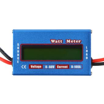 OH 100A 60V DC RC Helicopter Airplane Battery Power Analyzer Watt Meter Balancer - 3