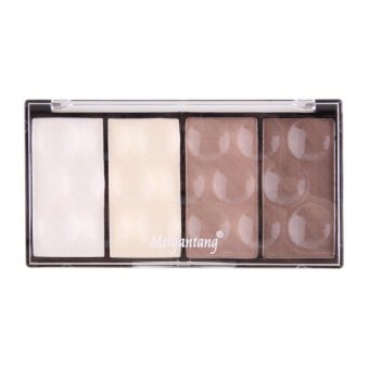 OH 4 in 1 Four Color Contour Shading Pressed Powder Highlight Make-up Cosmetic
