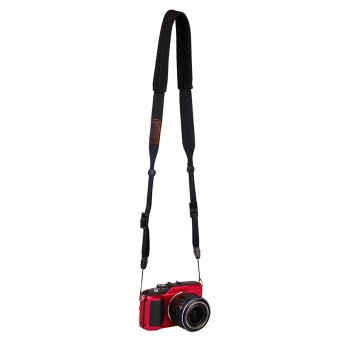 OH Classical Universal Anti-slip Camera Shoulder Neck Belt Strap for SLR DSLR (Black)