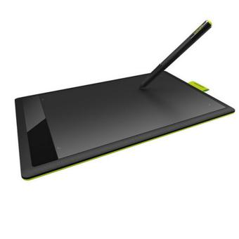 One By Wacom Bamboo CTL-471/KO-F Pen Tablet for PC/MAC (Black and Lime) - intl