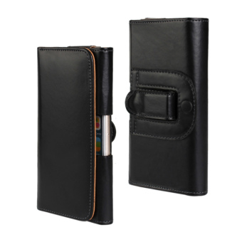 OnePlus a5000 wear leather belt men's waist hanging Leather cover protective case