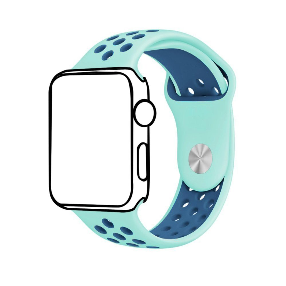... Ontube For Apple Watch Band Nike+ Series 1 Series 2, Soft SiliconeSport Bracelet Replacement Strap ...