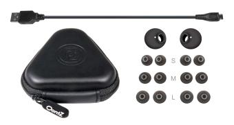 Oontz Budz2 Cambridge Soundworks -Wireless BluetoothHeadphones(Black) - 3