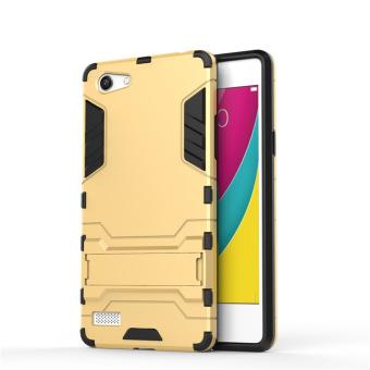 Taman rahasia Case belakang TPU penutup untuk Vivo Y55/Vivo Y55A (Gold)-