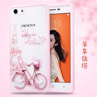 Oppo A33/a33m silicone painted dustproof shell phone case