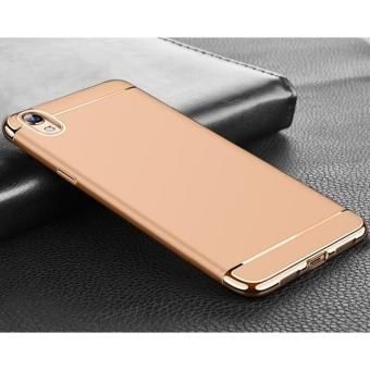 OPPO A37 3 in 1 Anti-fingerprint Shockproof Electroplate Frame Case