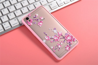 Oppo a37/a37m silicone painted dustproof soft case phone case