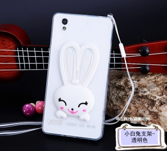 Oppo a51t/a51c/r1201/a51u rabbit support phone case