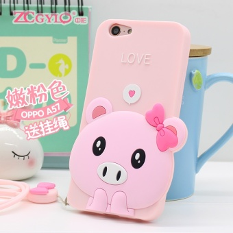 Oppo A57/a57m soft silicone phone case