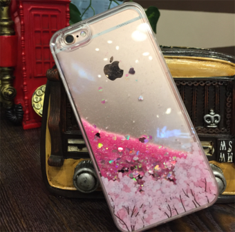 Oppo A57/A59 Japan and South Korea cherry glitter phone case