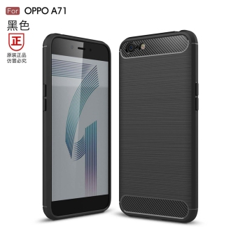 Oppo a71/a71 brushed full edging protective case phone case