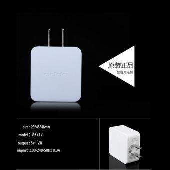 OPPO Original Charger For Oppo A37 With Cable - 5