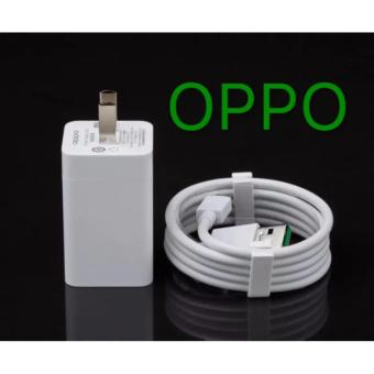 Oppo Original Fast Charger For Smart Phone Whit USB (White)