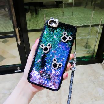 Philippines | Oppo R11/r11plus glitter colorful diamond set Swan protective case phone case Flash
