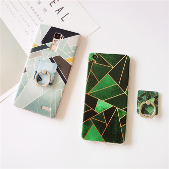 Oppo R7/r7plus/A53/r9plus geometric ring support painted soft case