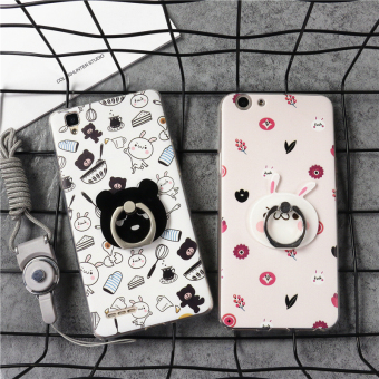Oppo37/a31m/A33/A57/A53/A59/A51 ring soft case phone case
