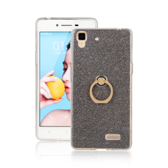 Oppor7/r7plus silicone buckle glitter all-inclusive soft case phone case